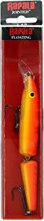 Rapala Jointed 13 Fishing lure, 5.25-Inch, Gold Fluorescent Red