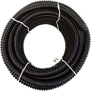 HydroMaxx Non Kink, Corrugated, Flexible PVC Water Garden Hose and Pond Tubing. Made in USA. Thick Wall. MM-Metric Sizing (1 1/2