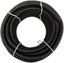 HydroMaxx Non Kink, Corrugated, Flexible PVC Water Garden Hose and Pond Tubing. Made in USA. Thick Wall. US/UL Sizing (1 1/4