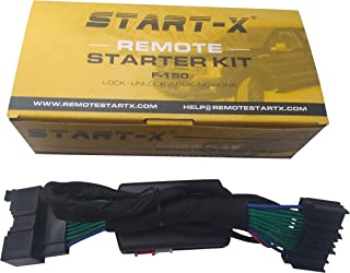Start-X Remote Starter For Ford F150 F-150 2015-2019, F-250 17-19, Ranger 2019, Expedition 18-19, Edge 15-19, Explorer 16-19, Fusion 14-19 (NO HONK-LOCK-UNLOCK-LOCK)