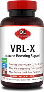 VRL-X Advanced Immune Support by Olympian Labs, 120 caps 30 Servings