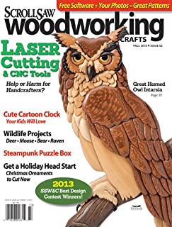 Scroll Saw Woodworking & Crafts - Fall 2013 - Issue 52