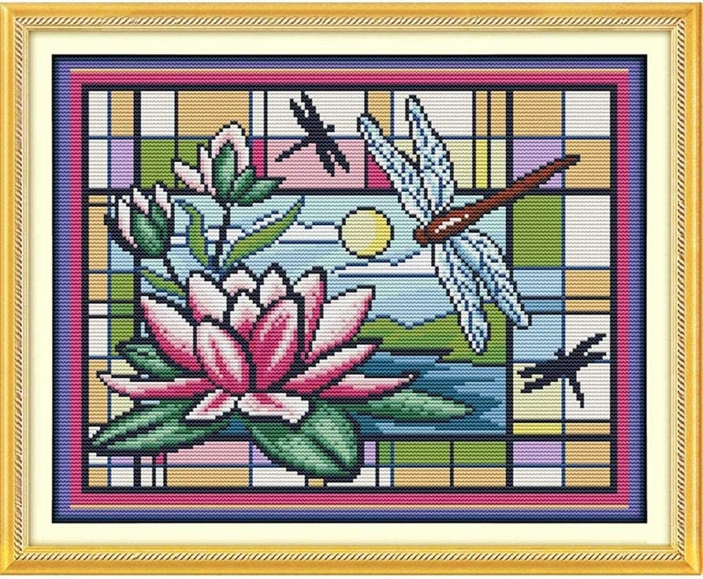 Stamped Cross Stitch Kits Beginners Embroidery Dragonf Luxury San Diego Mall for Adult