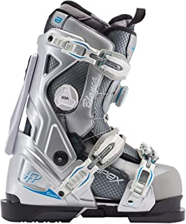Ski Boots Blanca All Mountain Ski Boots (Women's Sizes 23-28) Walkable Ski Boot System with Open-Chassis Frame for Intermediate/Advanced Skiers