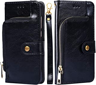fitmore Samsung Galaxy S10e Case,Protector Retro Multifunction Leather Wallet Case Cover [ Kickstand ] PU Leather Wallet Case with ID & Credit Card Slot Compatible with Samsung Galaxy S10e