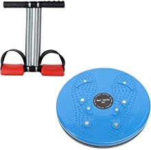 Bolditech Tummy Twister Useful for Figure Tone-Up,Weight Reduction, Pyramids with Double Spring Trimmer Pro Waist Abs Exer...