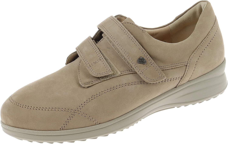 Finn Comfort Damen Damen Schuhe Halbschuh mit Klettverschluss Prophylaxe Schuh Patagonia Sand 96522373051