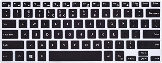 Keyboard Cover Compatible with Dell Inspiron 13 5368 5378 5370 5379/ Inspiron 7386 7373 7375 7368 7378 7380/15.6