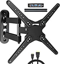 KDG TV Wall Mount for Most 28-70 Inch TVs, Full Motion TV Bracket with Articulating Arms Perfect Center Design TV Mounts W...