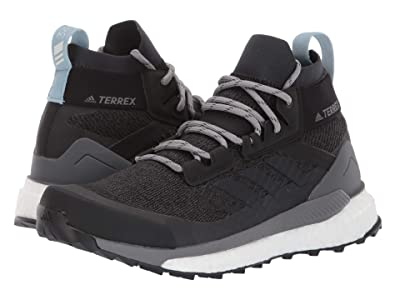adidas Outdoor Terrex Free Hiker (Carbon/Blue Tint/Ash Grey) Women