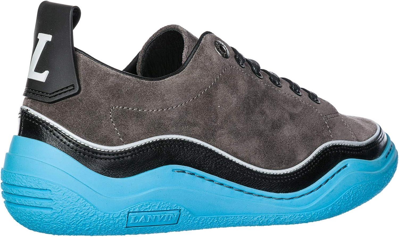 Lanvin Men Sneakers Grigio Grigio