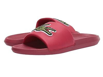 Lacoste Croco Slide 319 4 US (Red/Green) Men