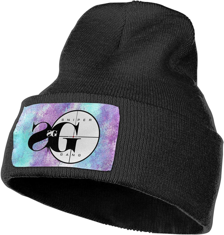 YPGZRSCX Sniper Gang Unisex Printed Knit Cap Sports Casual Skull Cap