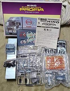 アオシマ 日野 スーパードルフィン プロフィア トレーラー 132 ビッグカスタムトラックシリーズNO.9
