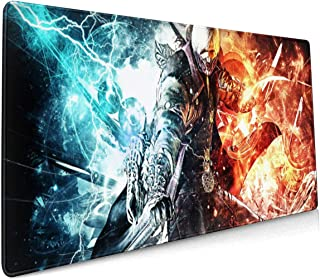 De-vil May Cry Mouse Pad 15.8x35.5 in Multipurpose Comfortable Waterproof Mousepad Desk Mat for Gamer Office Home