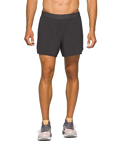 ASICS Road 2-in-1 5 Shorts (Graphite Grey) Men