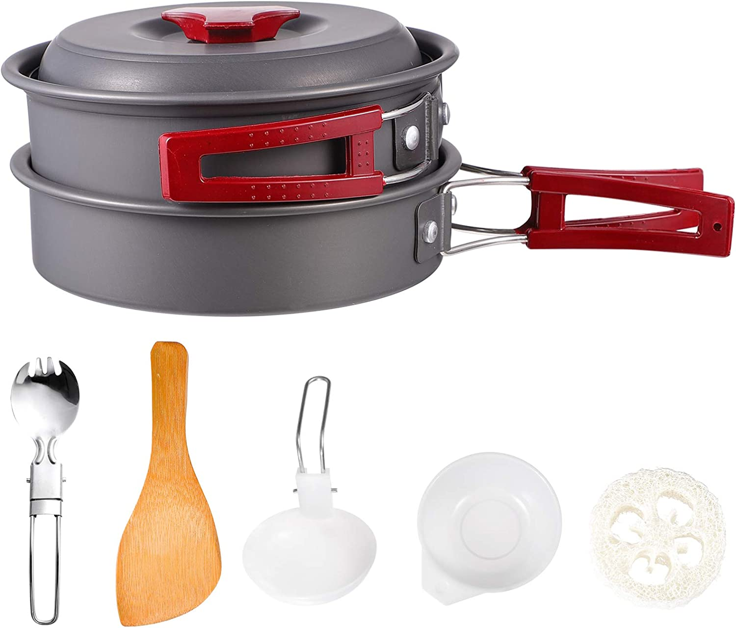 BESPORTBLE 1 Set Outdoor Camping Utensils Combin Tucson Mall Cookware Hiking free