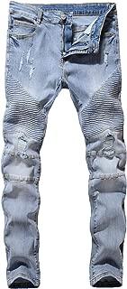 big mens biker jeans
