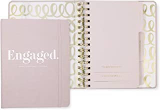 $27 » Kate Spade New York Undated Wedding Planner Organizer Weekly and Monthly, Bridal Appointment Calendar Book, Engaged (Blush)