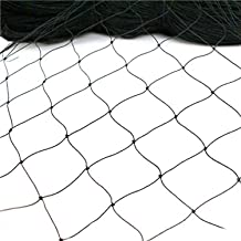 """Meichang Scarlett 25' X 50' or 50' X 50' Net Netting for Bird Poultry Aviary Game Pens New 1"""" Square Mesh Size (50' x 50')"""