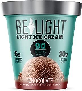 Belight, Chocolate Light Ice Cream, Pint (8 count)