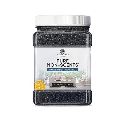 Pure Non-Scents 2 lb / 2 Quarts Granular Coconut Shell Activated Charcoal Non Toxic