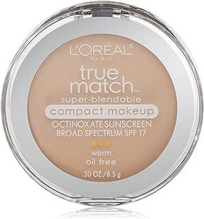 L'Oréal Paris True Match Super-Blendable Compact Makeup, W1 Porcelain, 0.3 oz.