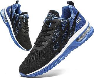 CAIQDM Laufschuhe Herren Sportschuhe Sneaker Outdoor Turnschuhe Joggingschuhe mit Luftpolster Männer Running Shoes for Men...