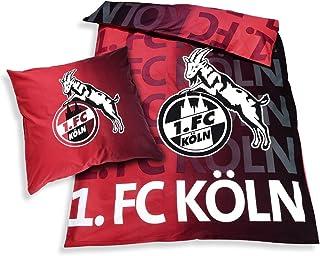 Unbekannt 1. FC Köln Bettwäsche Leuchtend 2-teilig (Bezug,