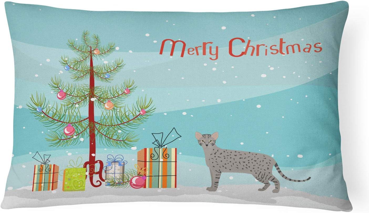 Caroline's Treasures Superior Easy-to-use CK4699PW1216 Safari Christmas Merry Cat #1