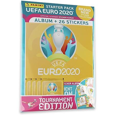 Panini France SA UEFA Euro 2020 Stickers 2021 Tournament Edition 4 Pochettes + Album Offert