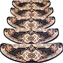 JIAJUAN Stair Carpet Treads Non Slip Soft Adhesive Solid Wood Staircase Protection Pads, 8mm, 3 Colors, 4 Sizes, Customize...