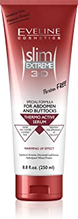 Slim Extreme 3D Thermo Active Serum Shaping Waist, Abdomen And Buttocks, 250 ml