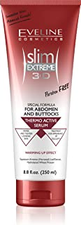 Slim Extreme 3D Thermo Active Serum Shaping Waist, Abdomen and Buttocks - Fat Burner