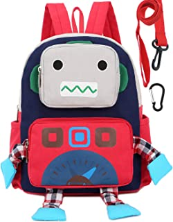 Chilren Kid Backpack Boy Preschool Girls Red with Leash Harness Unise Girls