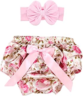 Baby Girl's Bloomer + Headband Set