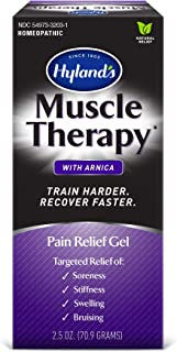 Arnica Gel, Muscle Therapy by Hyland's, Bruise Healing Cream, Natural Relief of Muscle Pain, Swelling, Bruising, Soreness,...