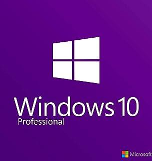 Windows 10 Professional 64 bit OEM - DVD | English Version | 1 PC