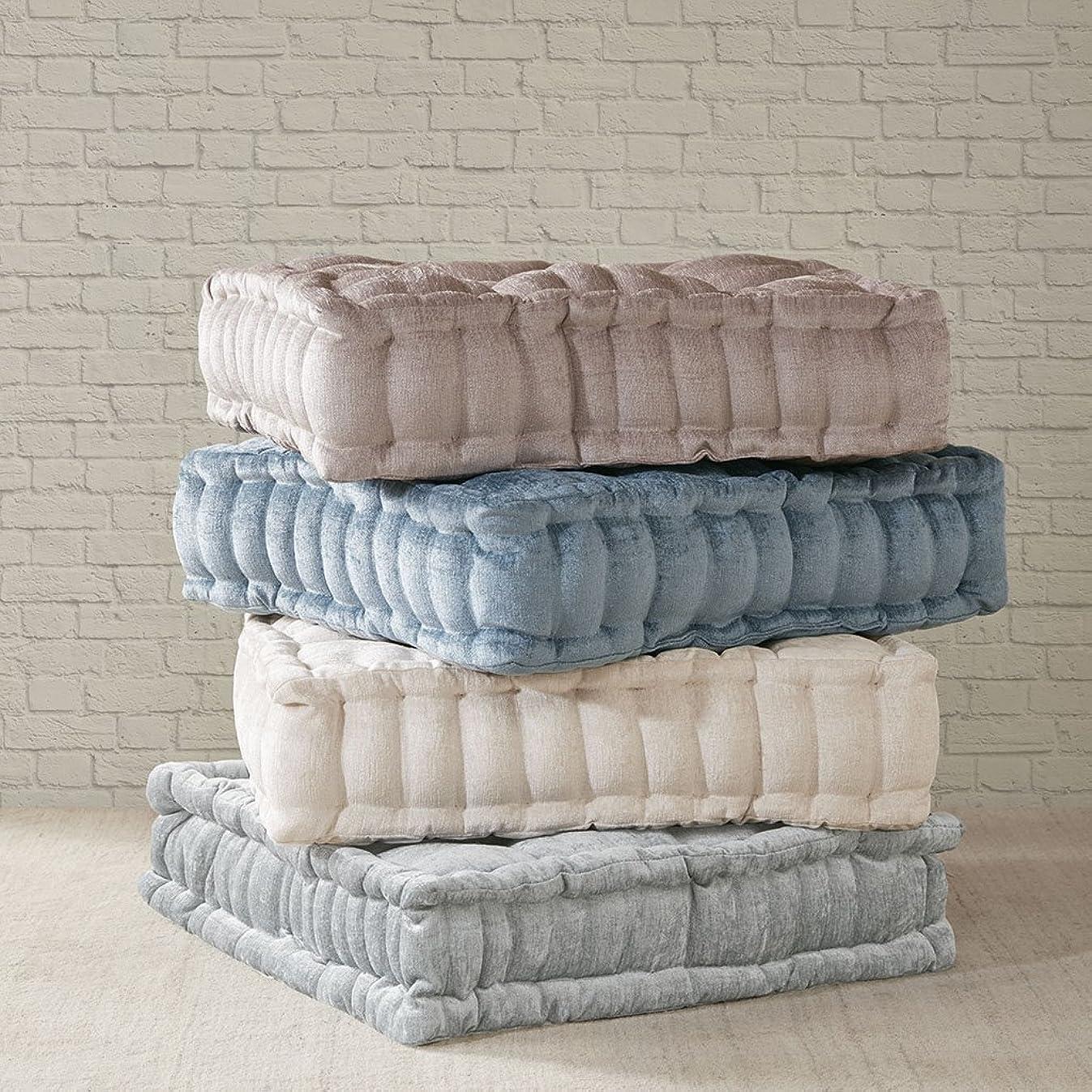 Intelligent Design Azza Poly Chenille Square Floor Pillow Cushion, 20