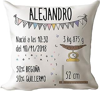 Amazon.es: cojines bebe personalizados