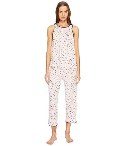 Kate Spade New York Scattered Dot Cropped PJ Set (Scattered Dot) Women
