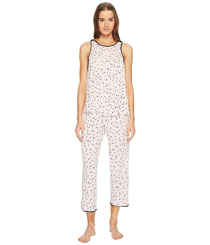 Kate Spade New York Scattered Dot Cropped PJ Set (Scattered Dot) Women