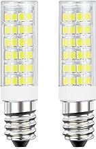 DiCUNO E14 LED Light Bulb 5W 50W Halogen Bulb Equivalent 220V Daylight White 6000K 550 Lumen Non-dimmable Pack of 2