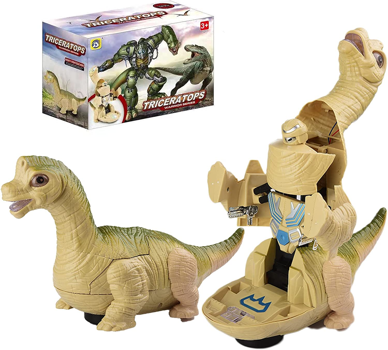 JOYINUS Dinosaur Toys for Large discharge sale Kids Ele 3-5 - Transforming Dino Reservation