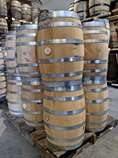 Fresh Dumped 10 Gallon Bourbon Barrel (Rye or Wheated Bourbon)