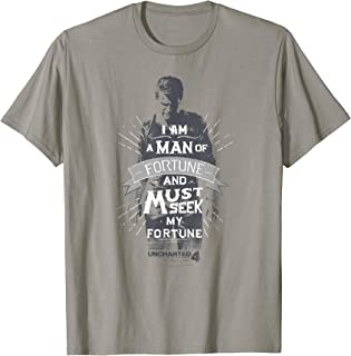 Uncharted Man of Fortune T-shirt