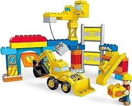 Mega Bloks Bob The Builder Work Yard Build-Up Building Kit (Renewed)