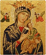 CafePress-Our Lady of Perpetual Help-Soft Fleece Throw Blanket