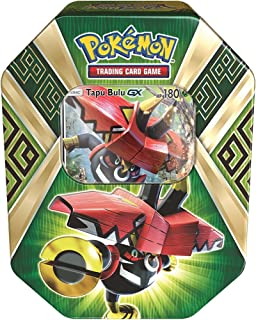 Pokemon TCG Sun & Moon Guardians Rising Collector's Tin, Containing 4 Booster Packs and Featuring a Foil Tapu Bulu-GX