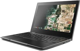 Lenovo Chromebook 100e Celeron N4000 4GB RAM 32GB SSD 11.6-Inch HD Laptop, Black, 81MA000NAU